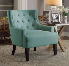 Aqua Accent Chair by Homelegance Dulce Accent Chair Teal 1233tl