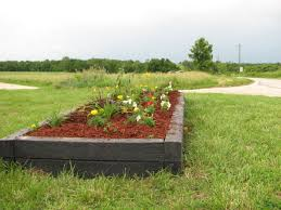 composite landscape timbers landscape timbers with well groomed landscaping timbers flower box