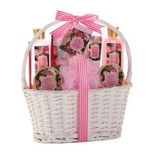 gift baskets for best bath and gift sets spa set