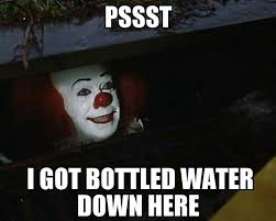 Water Meme - florida memes beat the clown take the water facebook
