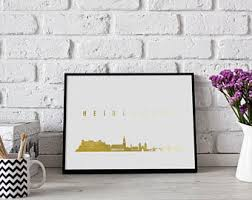 German Home Decor German Art Etsy