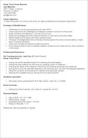 resume exles for students with little experience trucking truck driver resume publicassets us
