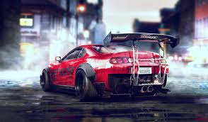 toyota desktop site wallpaper toyota supra sports car need for speed artwork