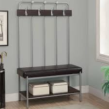 hall tree storage bench with coat rack with hall tree coat rack with small
