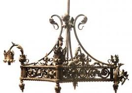 Vintage Wrought Iron Chandeliers Antique Wrought Iron Chandelier Light Shop Light Ideas