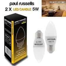 Led Candle Light Bulbs by Paul Russells Led Light Bulbs Bc Es Ses 3w 4w 5w 7w 12 Watt 25 40