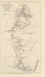 Niger River Map Maps From The Journal Of The Royal Geographical Society Of London