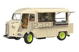 porte aperte auto il cibo in stile retr祺 auto con le porte aperte vista posteriore