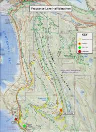 Nyc Marathon Route Map Bellingham Trail Running Series Fragrance Lake Half 10k