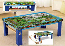 thomas the train wooden track table island of sodor train table by fisher price y4412 great prices