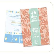 announcement cards pearl metallic announcement cards