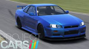 cars nissan project cars nissan skyline r34 tuner mod youtube
