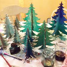 treee decorations lights card and decore