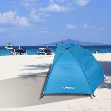 Awning Sun Quick Opening Tent Beach Awning Sun Shelter Half Open Waterproof