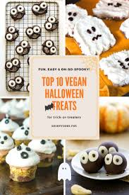 Vegan Halloween Appetizers Fun U0026 Easy Vegan Halloween Treats Seven Roses
