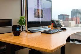 long gaming desk jarvis standing desk review digital trends