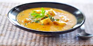 soupe de poisson créole facile recette sur cuisine actuelle