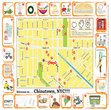 Map Of Manhattan New York City by Kids Map