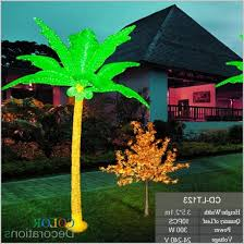 outdoor palm tree l outdoor lighted palm tree with coconuts outdoor designs