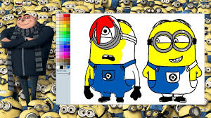 despicable minions coloring pages minions coloring game