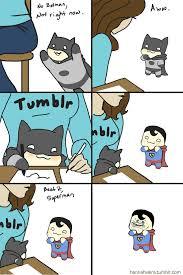 Superman Better Than Batman Memes - batman vs superman by vierasketch on deviantart