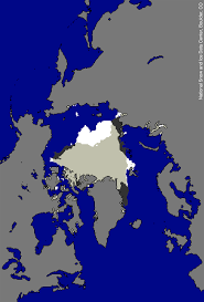 World Map Of Seas by September 2008 Arctic Sea Ice News And Analysis