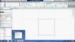 how to make plain house 1 floor in revit application youtube
