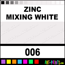 zinc mixing white artist acrylic paints 006 zinc mixing white
