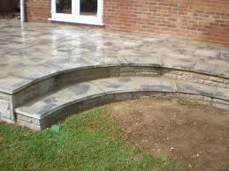 Concrete Patio Blocks 18x18 by Patio Slabs Bridgwater Taunton Yeovil Burnham On Sea Weston