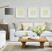 grey and yellow living room design home design ideas