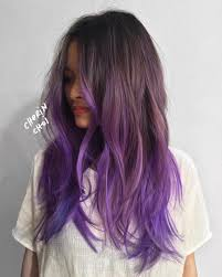 weave hairstyles with purple tips 20 ways to wear violet hair violets ombre and violet hair