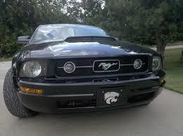 2014 ford mustang pony package modern billet mustang black pony package billet grille 17097 05