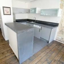 beton cir cuisine kit beton cir salle de bain amazing great gagner vasque de