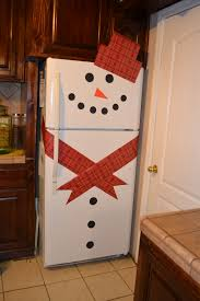 snowman refrigerator i u0027m sorry i think this is so cute i don u0027t