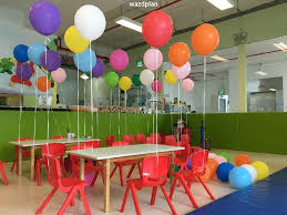 simple balloon decoration for birthday party at home trendy
