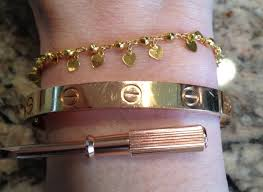 rose gold color bracelet images Brilliant ideas rose gold cartier love bracelet pics color change jpg