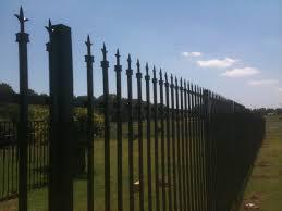 amazing wrought iron garden fence 4 elegant marvelous 7 decorative