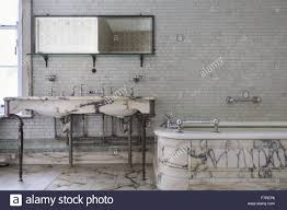 the marble bathroom in mrs greville u0027s apartment polesden lacey