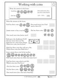 counting coins word problems worksheets u0026 activities