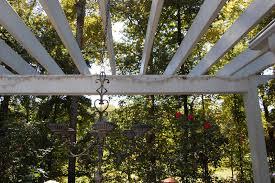 Pvc Pipe Pergola by Repairing String Lights On The Pergola