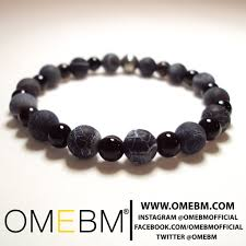 black onyx beads bracelet images Black onyx beaded bracelet jewelry omebm omebm be jpg