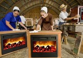 Amish Electric Fireplace Amish Miracle Heater Is Anything But Treehugger