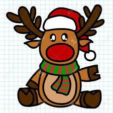 imagenes animadas de renos de navidad reindeer hand draw cartoon royalty free cliparts vectors and stock