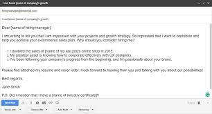 email for sending resume best resume example