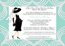 tiffany themed baby shower invitations breakfast at tiffanys