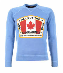 Flag Sweater Dsquared2 All But The Flag Sweater Blue Beachim