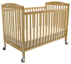 Folding Baby Bed Full Size Folding Pocket Crib Cherry Transitional Cribs By