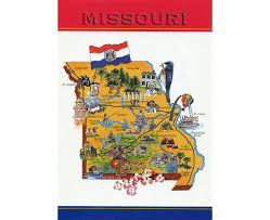 Map Of Missouri River Maps Of Missouri State Collection Of Detailed Maps Of Missouri
