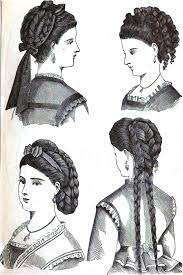 hair style of 1800 hair styles hair styles from the 1800 s