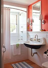 decorating ideas for bathrooms colors best 25 orange small bathrooms ideas on orange bath